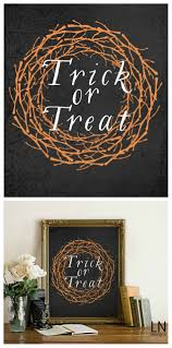 free trick or treat halloween print printing halloween