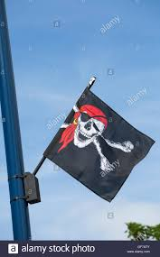 Scottish Pirate Flag English Flag Blowing Sky Stock Photos U0026 English Flag Blowing Sky