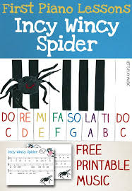 free printable sheet music for xylophone incy wincy spider easy piano music free printable sheet music