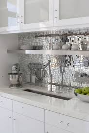 mirrored backsplash in kitchen backsplash ideas amusing mirrored kitchen backsplash mirrored
