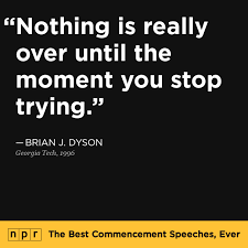 Many Hands Make Light Work Quote The Best Commencement Speeches Ever Npr