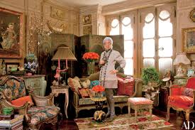1940 Homes Interior Iris Apfel U0027s Three Bedroom Manhattan Apartment Architectural Digest
