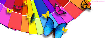 cover layout com rainbow color butterflies facebook cover rainbow color butterflies