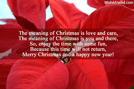 the meaning of is merry wish
