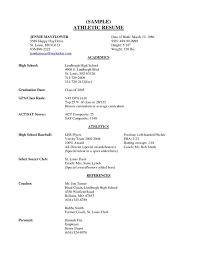 high school resume college resume sles for high school senior best resume collection