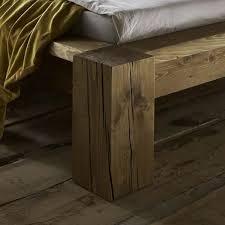 Schlafzimmer Antik Massiv Echtholz Bett Antik 140x200 Kiefer Fichte Massiv Gebeizt Gewachst