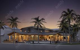 design concept 3d rendering restaurant design