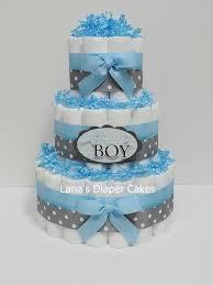 3 tier navy blue u0026 grey elephant diaper cake elephant baby
