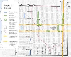 Seattle Street Map get ready for u0027damp season u0027 with a rain garden