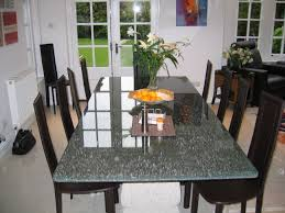 Shattered Glass Table by Round Crackle Glass Dining Table Dining Table Design Ideas