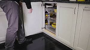 blind corner kitchen cabinet ideas blind corner cabinet slides all the way out for easy access