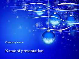 christmas holiday powerpoint template u0026 background for presentation