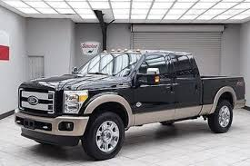 Ford F250 Pickup Truck - ford f 250 super duty king ranch crew cab 4x4 in texas for sale