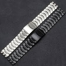 diamond stainless steel bracelet images Diamond stainless steel bracelet for swatch ycs410gx male 19mm jpg