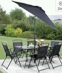 Umbrella Patio Sets 6 Pc Patio Set Home Design Ideas And Pictures