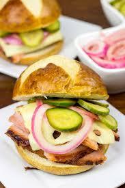 bavarian ham sandwich spiced
