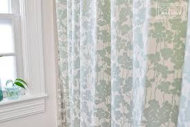 Mint Shower Curtain Double Shower Curtain Beautiful Matters