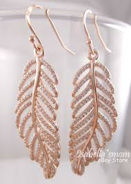 feather earrings s light as a feather authentic pandora gold plated earrings