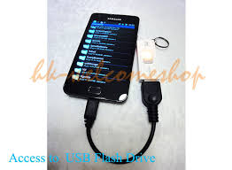 Tablet Otg Micro B Usb Host Otg Cable For Huawei Ideos Tablet S7 Android