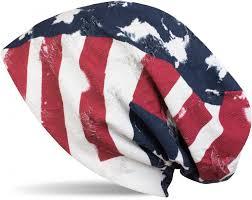 American Flag Beanie Beanie Im Usa Flaggen Design 899