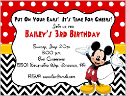 free mickey mouse printable invitations printable invitations