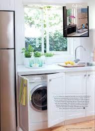 laundry in kitchen ideas washer and dryer in kitchen fitbooster me