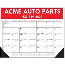 what is a desk blotter calendar economy desk blotter calendar goimprints