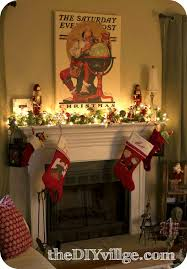 home decor awesome christmas fireplace decorations home interior