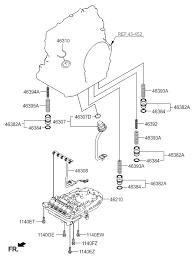 2008 hyundai elantra transmission transmission valve for 2008 hyundai elantra
