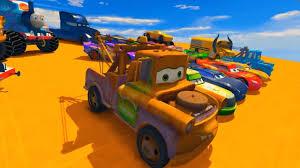 lightning mcqueen monster truck videos cars 3 colors lightning mcqueen monster truck u0026 mater jackson