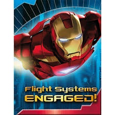 Post Card Invites Iron Man Party Supplies Postcard Invitations At Toystop
