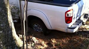 hunting truck ideas truck got stuck in mud use trac grabber to get unstuck youtube