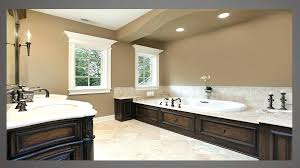 what color cabinets with beige tile beige tile floor wall color in brown bathroom cabinets