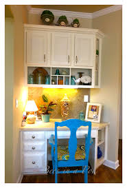 Turquoise And Orange Kitchen by Kitchen Desk Update 2 Bees In A Pod