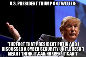 It Security Meme - trump u s russia cyber security unit can t happen memenews