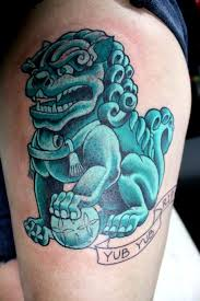 small foo dogs japanese foo dog picture 3d design tattoos design idea for
