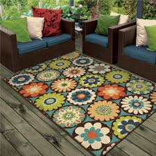 Ebay Outdoor Rugs 1833 5x8 Orian Rugs 1833 5x8 Indoor Outdoor Circles Of Light