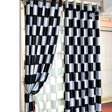 Black And White Checkered Curtains Black And White Checked Curtains Lovely Black And White Plaid