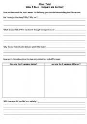 english teaching worksheets oliver twist