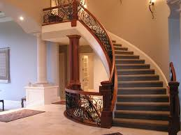 What Is A Banister On Stairs by Best 25 Curved Staircase Ideas On Pinterest Entry Stairs