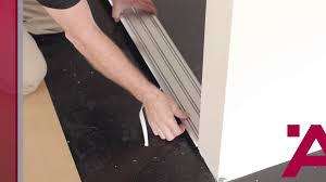 How To Measure For Sliding Closet Doors by Aluflex Sliding Door Installation Guide 2 Of 7 Installing Top