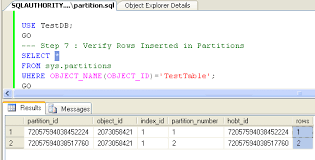 table partitioning in sql server sql server 2005 database table partitioning tutorial how to
