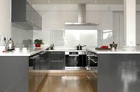 cuisine gris et cuisine gris et blanc moderne grise le bois chez vous wekillodors com