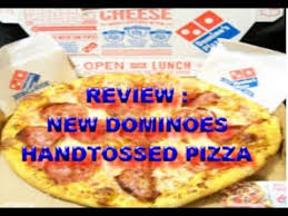 domino pizza hand tossed review dominoes hand tossed pizza new recipe e c r youtube