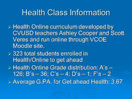 high school health class online conejo valley usd high school summer school 2010 at thousand oaks