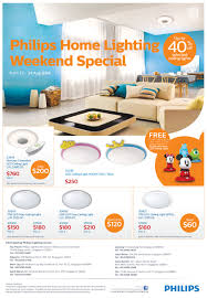 Home Design Stores Singapore by Philips Home Ceiling Lighting Promotion This Weekend