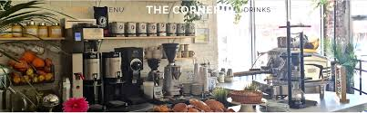 what s great about montclair new jersey the corner is a gourmet cafe serving the finest coffee grounds tea leaves and fresh pressed juices alongside a delicious in house pastry and savory menu