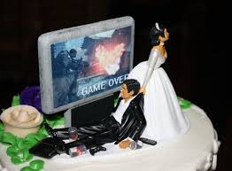 gamer wedding cake topper 18 wedding cake toppers