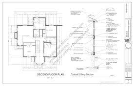 porch blueprints h212 country 2 story porch house plan blueprints construction