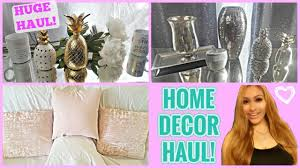 home decor haul t j maxx marshalls ross pink gold and